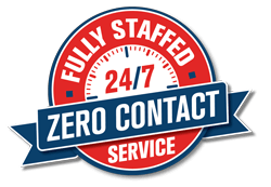 Fully Staffed. 24/7 Zero Contact Service.