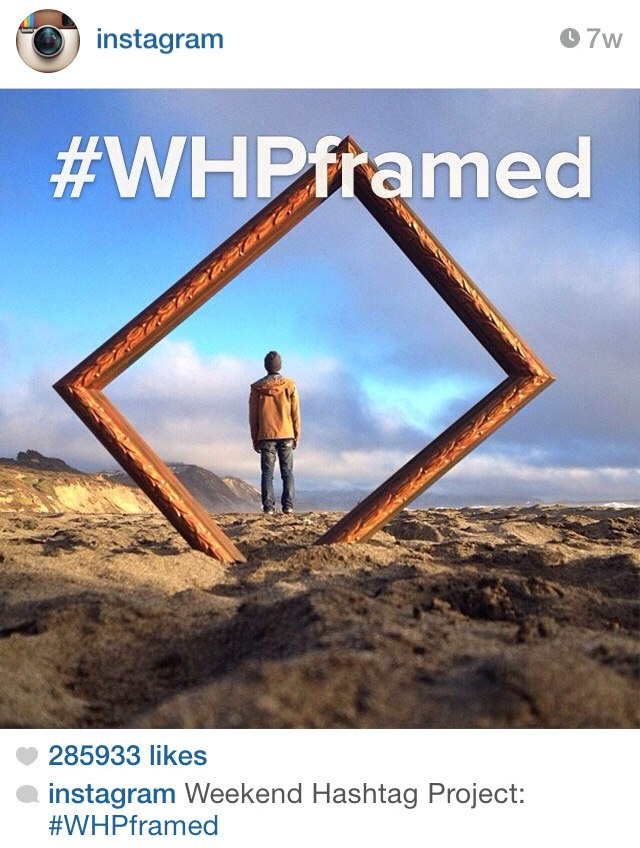 Instagram's #WHP (Weekend Hashtag Project)