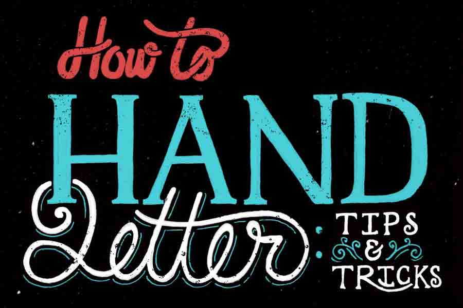 How to Hand Letter
