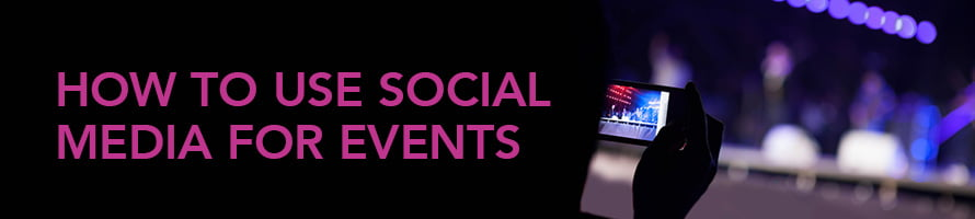 Social Media For Live Events