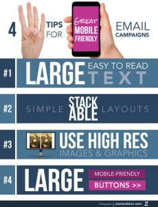 4 Tips for Mobile Friendly Emails