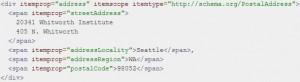 Schema Microdata