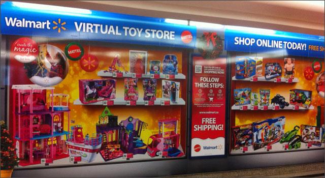Walmart / Mattel Virtual Toy Store