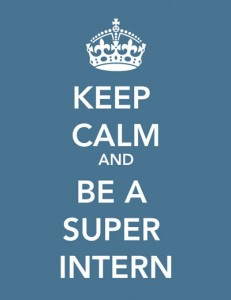 Keep Calm and Intern On