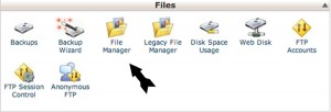 Upload Files To Server Step 1