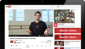 YouTube TrueView In-Display Advertisement