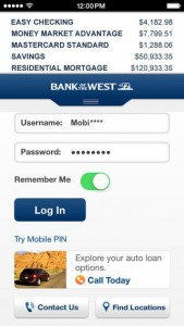 Bank of the West Login