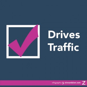 Drives Traffic