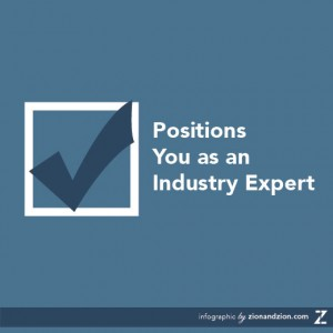Position Yourself As An Industry Expert