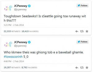 JCPenney Super Bowl Tweets