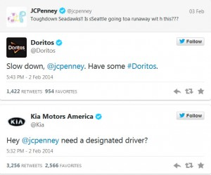 Other Brands Tweet at JCPenney