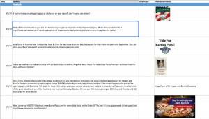 Content Calendar for Google Plus Business Page