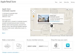 Apple Local Page - Map