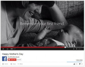 Facebook Ad for Mothers Day