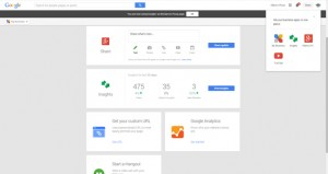 Google Plus For Business Dashboard