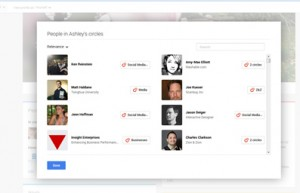 Google Plus People Who Have Circled You