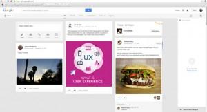 Google Plus Personal Dashboard