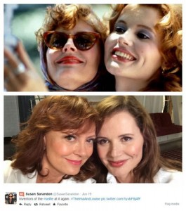 Thelma and Louise Selfie