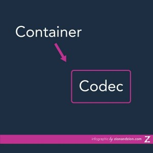 Container vs. Codec