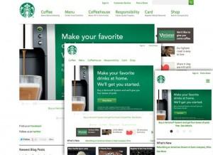 Starbucks Interactive Design