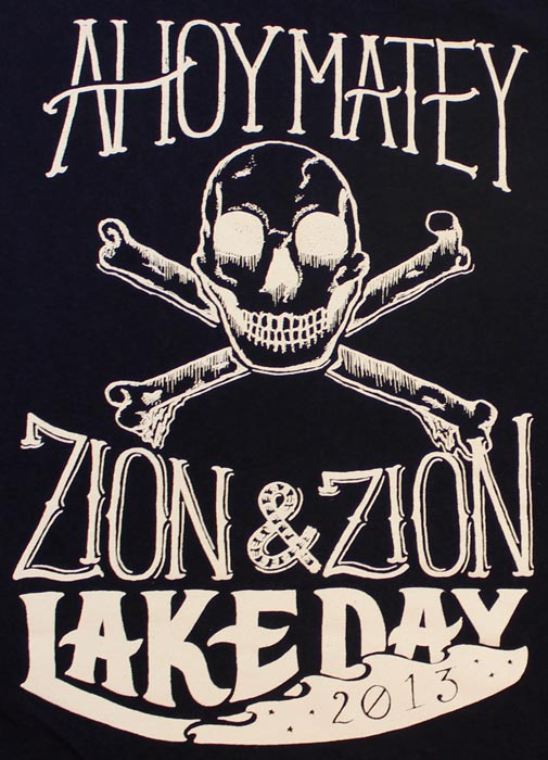 Lake Day Shirt Sketch to Vector Art