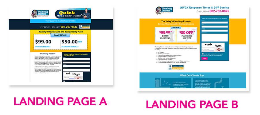 Landing Page A/B Test