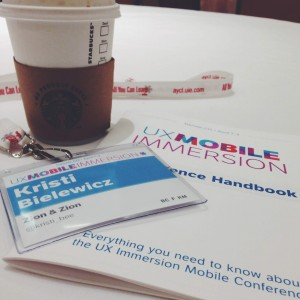 UX Mobile Immersion Conference