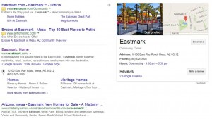 Eastmark Branded Search