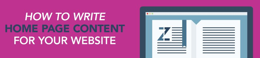 How to Write Homepage Content for Your Website