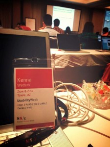 Our Usability Week Pass