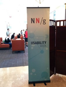 Usability Week Banner