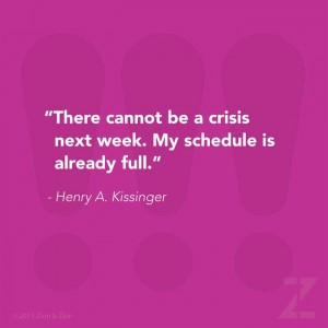 Kissinger Crisis Quote