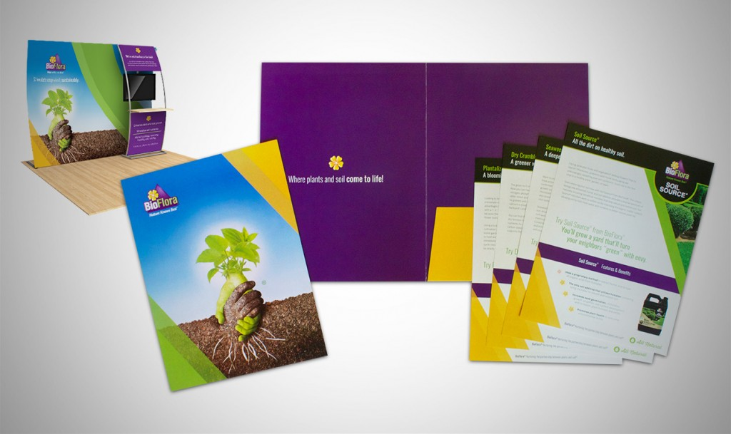 BioFlora's Marketing Materials