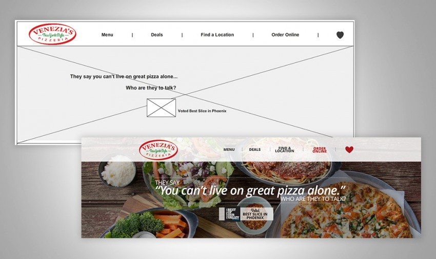 prototype web experience