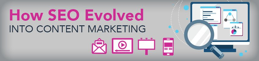 how seo evolved into content marketing