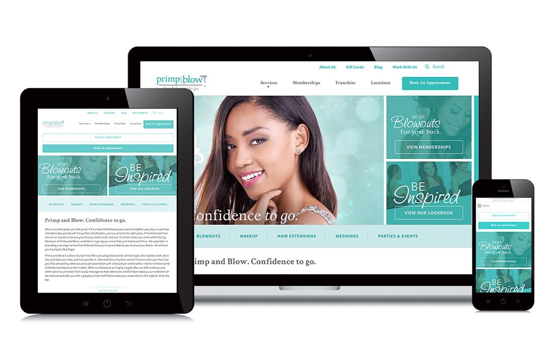 example of responsive website