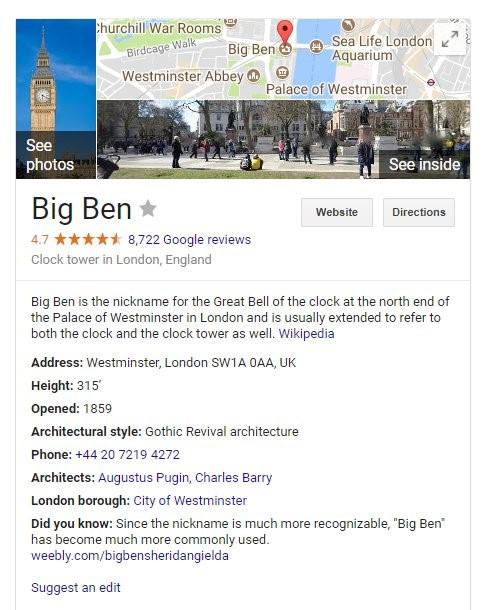 Big Ben wikipedia