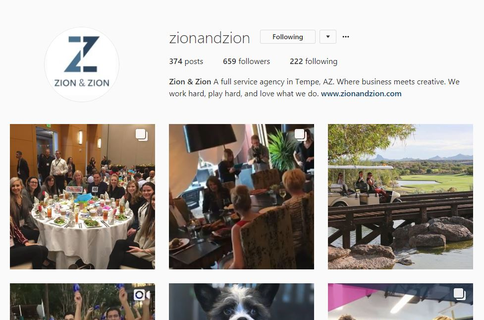 instagram profile desktop