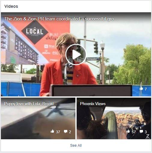 fb page videos