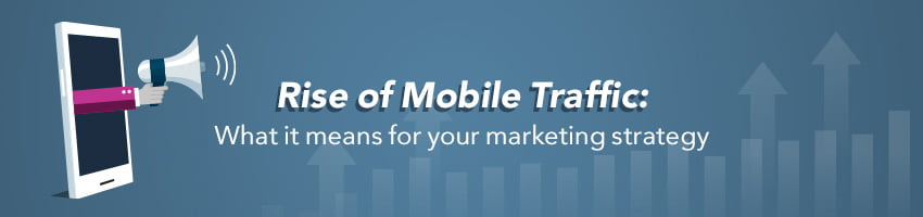 Rise of Mobile Traffic: What it Means for Your Marketing Strategy