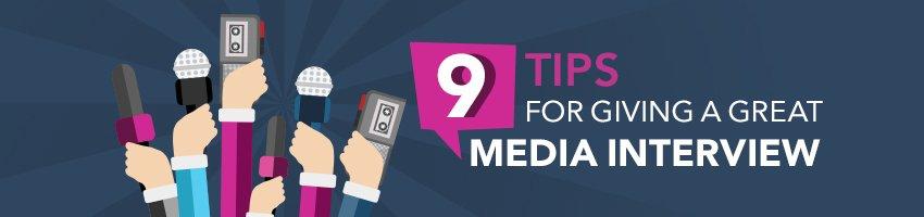 how to speak to the media header