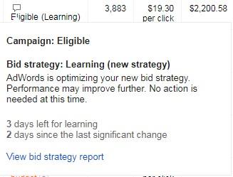 google automated bidding