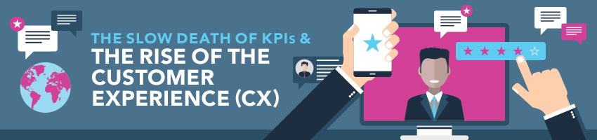 The Slow Death of KPIs & The Rise of the Customer Experience (CX)