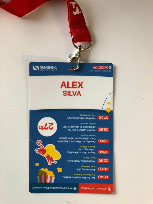 conference badge ux 2