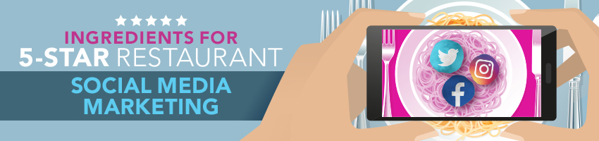 Ingredients for 5-Star Restaurant Social Media Marketing