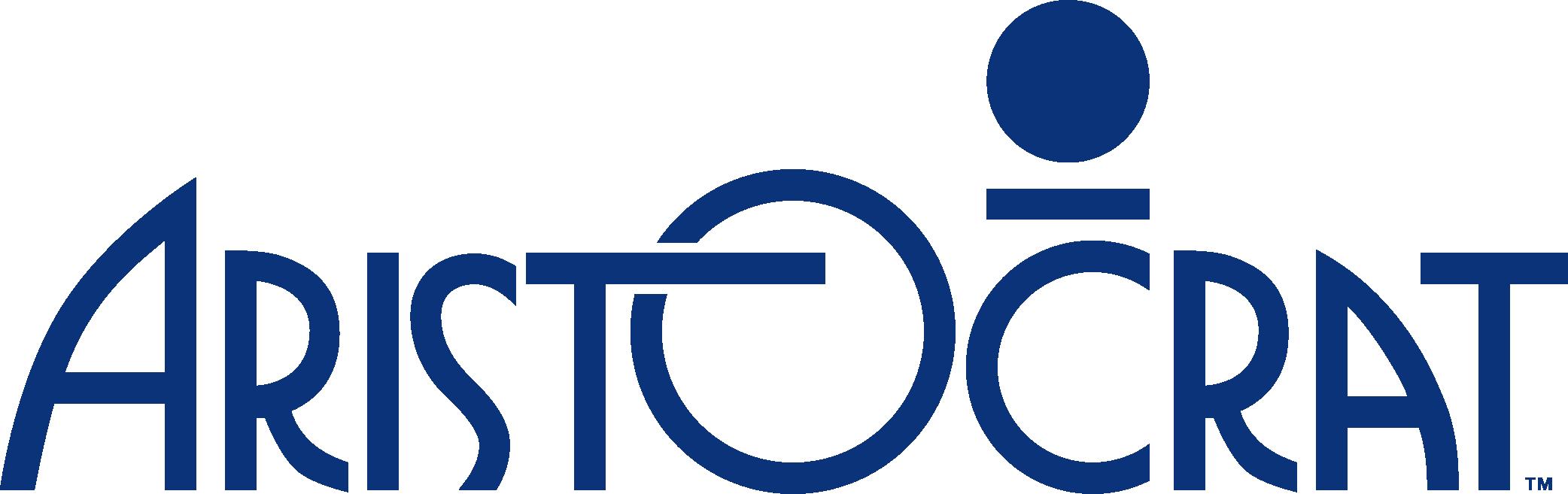 _Aristocrat logo_Blue