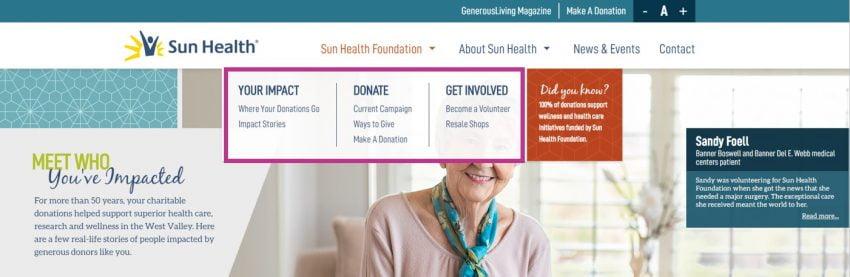 sun health example