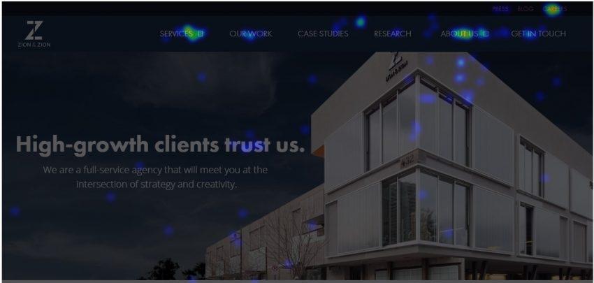 ClickMap | The Basics of Building A Website: UX