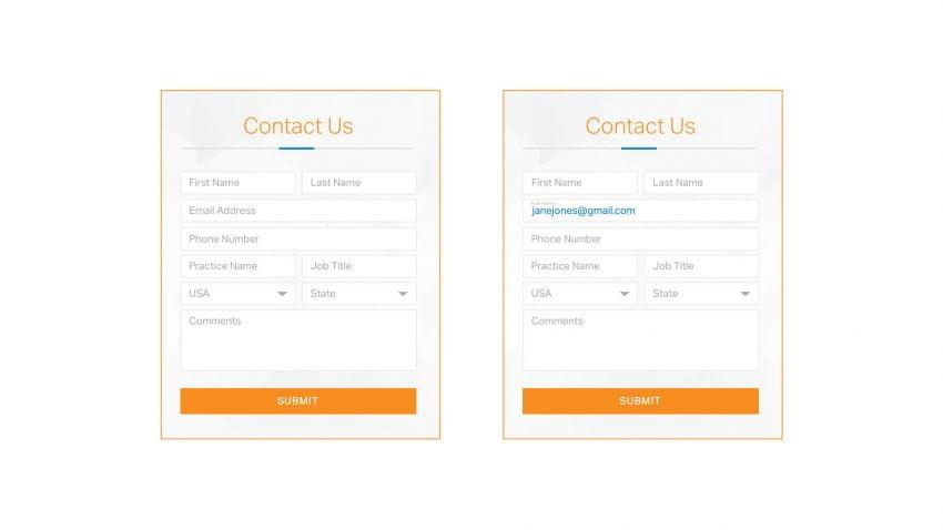Form Example | Designing For Human Behavior