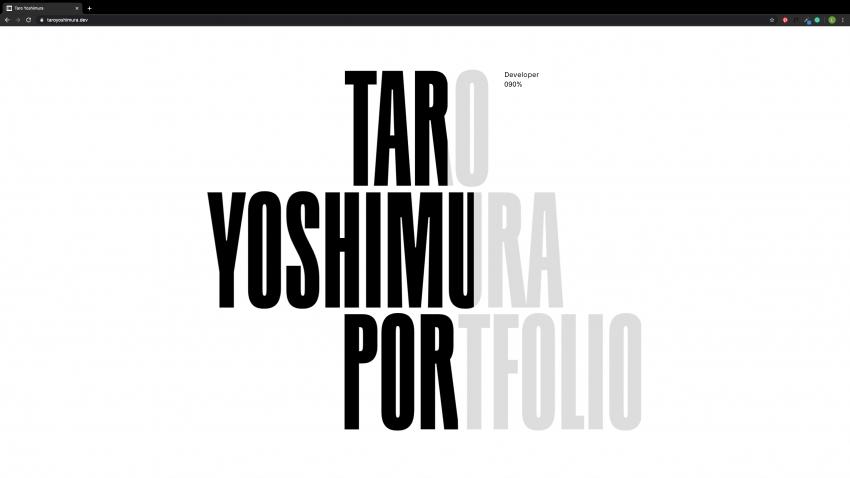 TaroYoshimura_Animation Example